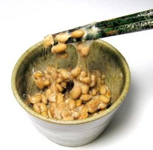 Natto, pure and simple
